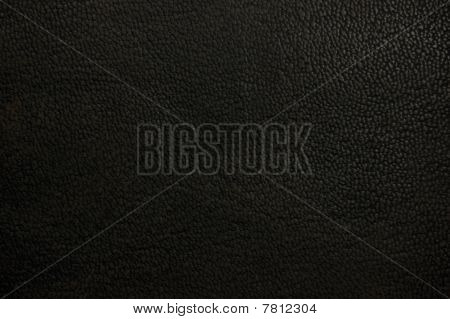 Old Natural Dark Brown Black Grunge Grungy Leather Texture Background Macro Closeup