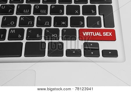 Computer Key - Virtual Sex