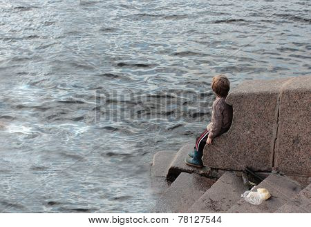 Child And The Sea