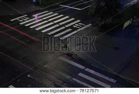 Night Crossroad