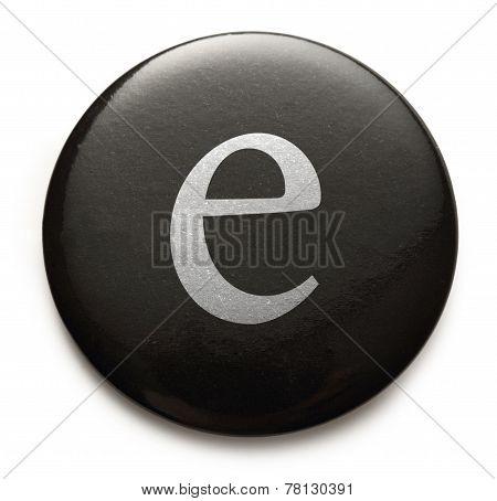 Latin Letter E