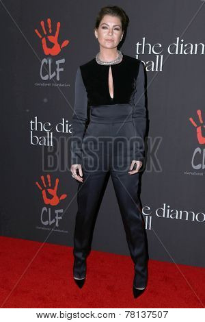 LOS ANGELES - DEC 11:  Ellen Pompeo at the Rihanna's First Annual Diamond Ball at the The Vineyard on December 11, 2014 in Beverly Hills, CA