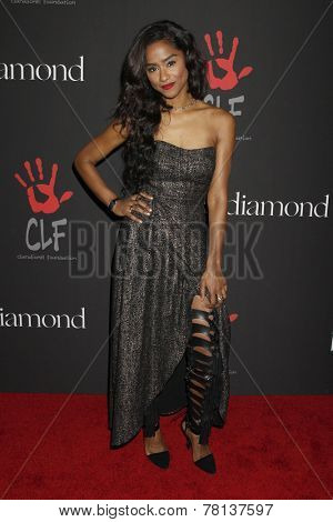 LOS ANGELES - DEC 11:  Vashtie Kola at the Rihanna's First Annual Diamond Ball at the The Vineyard on December 11, 2014 in Beverly Hills, CA