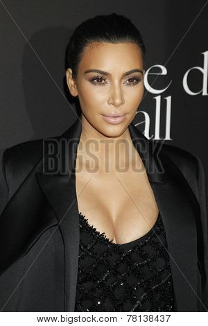 LOS ANGELES - DEC 11:  Kim Kardashian West at the Rihanna's First Annual Diamond Ball at the The Vineyard on December 11, 2014 in Beverly Hills, CA