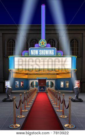 Film-Theater & Ticket-Feld