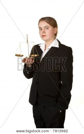 Young Female Lawyer