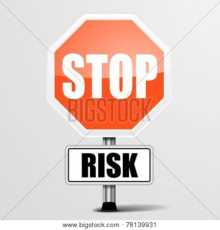 detailed illustration of a red risk ebola sign, eps10 vector