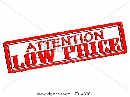 Attention Low Price