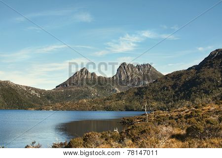 Cradlel Mountain In Tasmania