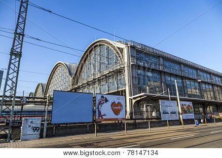 Outside The Frankfurt Central Station