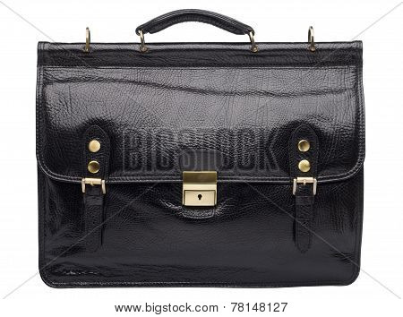 Natural Leather Both Male And Female Briefcase