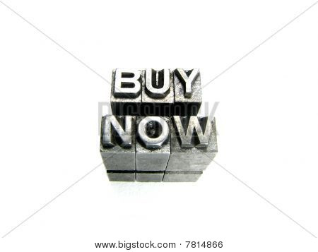 Buy Now  Sign Written In Vintage Letterpress Blocks