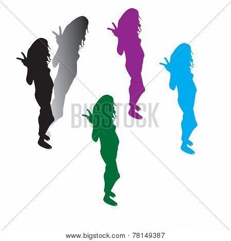Woman Silhouttes