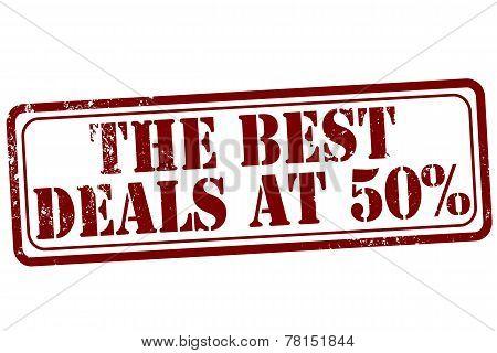 The Best Deals Stamp