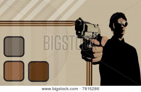70S Gangster Layout Background
