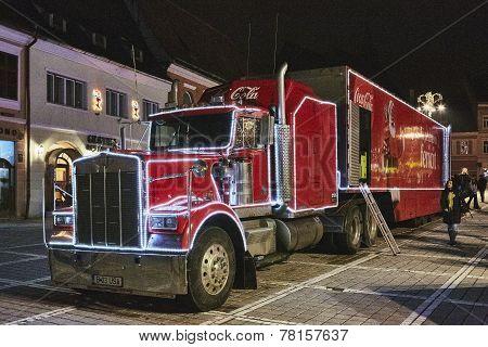 Red Coca-cola Truck