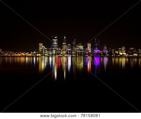 Perth City Lights