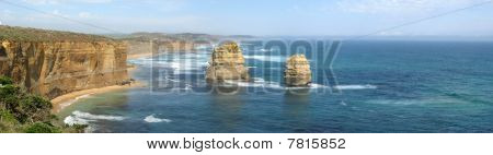 Rocks in the 12 apostles national park