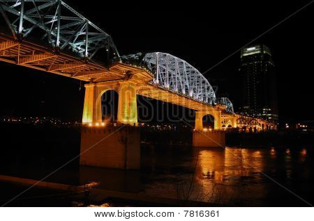 Nashville's Shelby Street Bridge