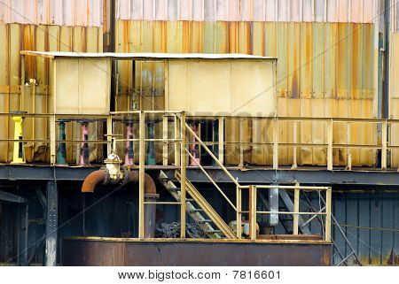 Detail Of An Industrial Building