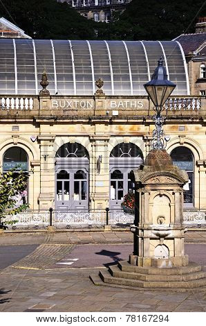 Buxton Thermal Baths and drinking fountain.