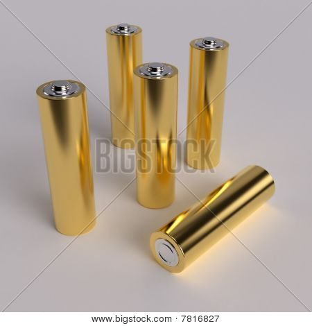 Gold Aa Batteries