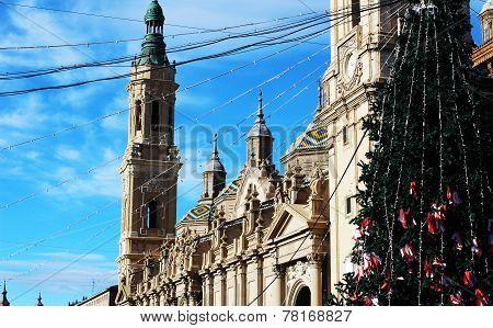 El Pilar en Navidad