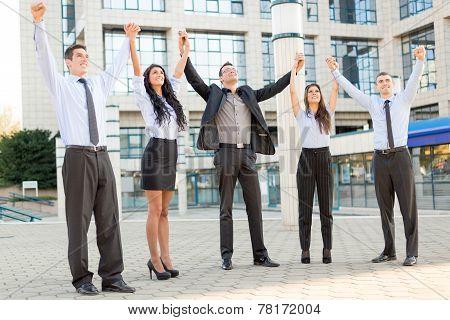 Celebrating Business Success