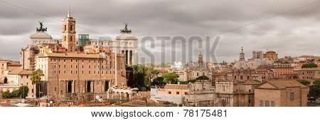 Panorama Of Rome