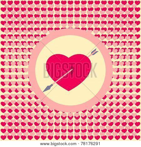 Pierced By An Arrow Heart