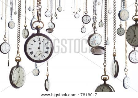 Many Pocket Watches