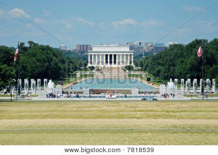 Lincoln Memorial em Washington, DC