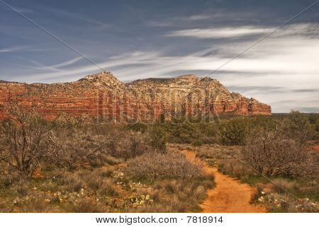 Dirt Road into Red Rock Country