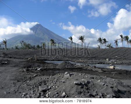 Volcanic Terrain Mount Mayon