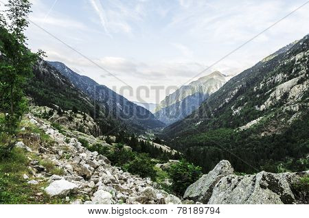 At The Pyrenees Mountains