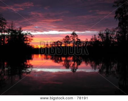 Sunrise On Cathead Creek