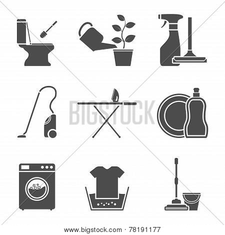 Housework Icons