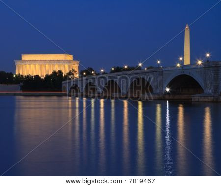 Washington DC at Twilight