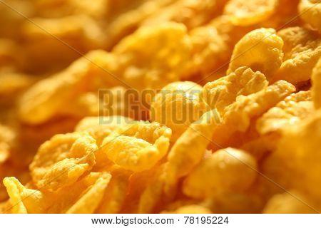 Corn Flakes Background