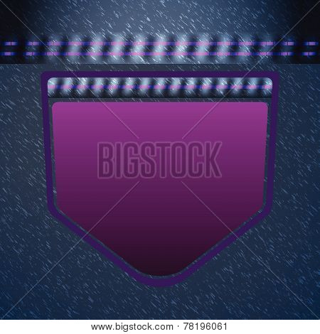 Gorgeous Jean Pocket Pattern Background