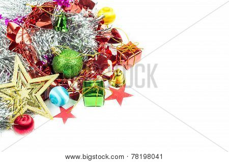 Christmas Collection Isolated On White