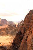 stock photo of jabal  - Wadi Rum desert - JPG