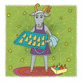 picture of pinner  - Joyful goat  - JPG