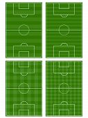 picture of offside  - An Illustration Set of Association Football Fields - JPG