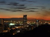 foto of faber  - Nice sunset city view from Mount Faber - JPG