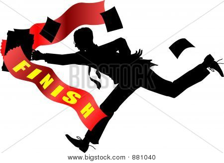 Businessman_Finishline