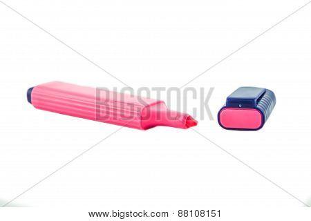 Pink Highlighter.