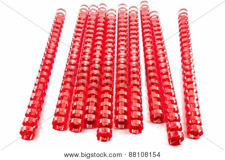 Red  Binding Springs