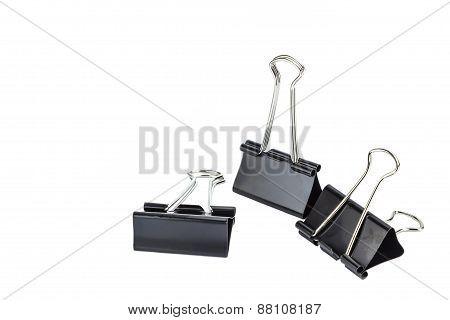 Black Paper Clip
