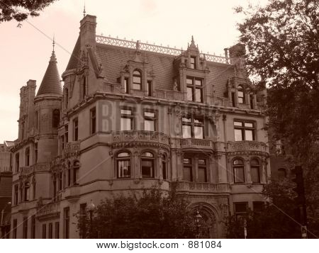 Burrage House Series Sepia One